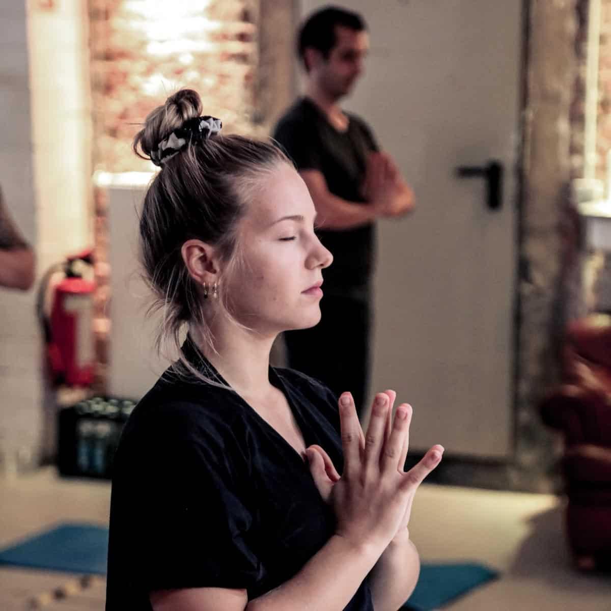 yoga event teilnehmerin hamburg
